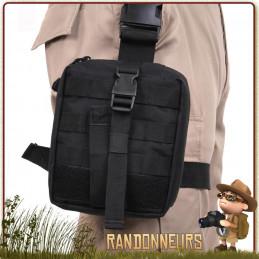 Drop Leg système de portage de pochette à la ceinture et cuisse militaire pour trousse de soins trauma kit de survie