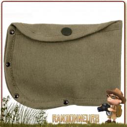 Housse Canvas pour Hachette Rothco étui en coton canvas haute résistance, avec passant pour ceinture pour hache bushcraft