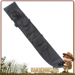 Etui Tactique MOLLE pour machette Noir Rothco bushcraft jungle