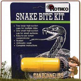 Kit de premiers soins morsures de serpent. Mini kit de premiers secours  piqures d'insectes venimeux