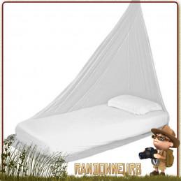 Moustiquaire TREKKER Highlander une personne, ultra légère, adaptée à la randonnée imprégnée permethrine anti moustique