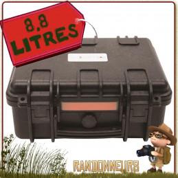 Valise Urikan XPLOR 8 Litres étanche à la poussière, à l'eau, traitement anti-corrosion et résistante aux chocs.