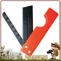Scie miniature SaberCut UST ultra-légère repliable capable de scier le bois, et la plupart des métaux avec lame rasoir