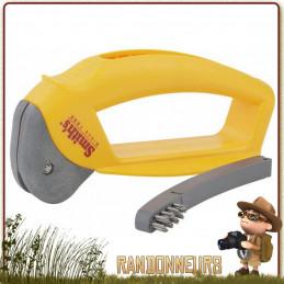 Affûteur Hache Machette Smith's, simple et d'usage facile, donner un tranchant acéré et lisse des deux côtés