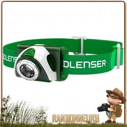 Lampe frontale Led Lenser SEO 3 puissante et légère pour le sport et la randonnée