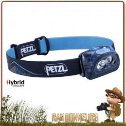 Lampe Frontale loisirs randonnée trekking running PETZL Actik Bleue puissante