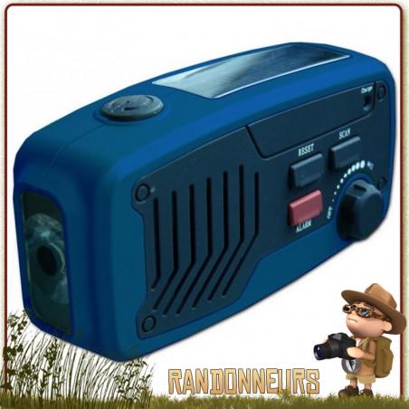 Radio 5 en 1 Solaire Dynamo PANTHER Power Plus