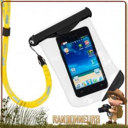 Pochette Smartphone Etanche Model 17B GOOPER randonnée ultra légère