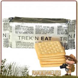 Biscuits Secs Energétiques TreknEat longue conservation besoins en énergie et nutrition randonnée légère, survie