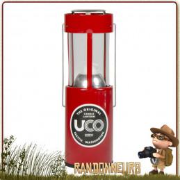 Lanterne Compacte Original Aluminium UCO Rouge
