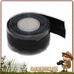 ruban multi-réparation est un ruban silicone qui lorsque vous l'enroulez autour d'un objet pour le réparer