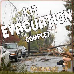 sac evacuation complet de survie, aliments, équipement d'urgence, matériel survivaliste, idéal pour fuir