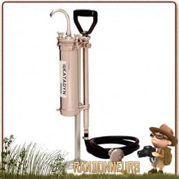 filtre katadyn expedition pour groupe randonneurs ou expédition humanitaire avec gros débit de filtration eau potable