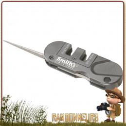 Affuteur Pocket PAL SMITHs pour aiguiser sa lame de couteau en randonnée bushcraft