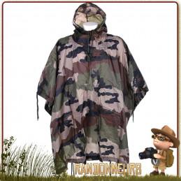 Poncho militaire Camo camouflage armée Français 101 Inc