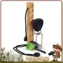 Fire Lighting Kit de Light My Fire est un ensemble complet pour votre campement bushcraft survie nature