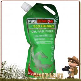 gel éthanol Fire Dragon BCB à base d'éthanol gélifié allume feu ou bien combustible pour votre réchaud randonnée