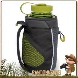 porte bouteille Nalgene pratique et compact permet de trasnporter une gourde Nalgene d'un Litre à la ceinture