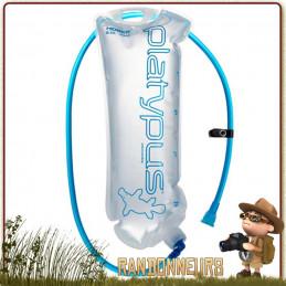 sac hydratation HOSER 2 Litres Platypus hydratation ultra-léger s'intègre dans poche sac à dos randonnée légère
