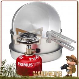 Kit Popote Réchaud MIMER Primus la cuisine en randonnée légère est facile et pratique pour le trek de 1 à 4 randonneurs