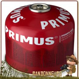 Cartouche 230g PowerGaz Primus pour réchaud randonnée ultra léger microntrail mimer primus