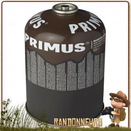 cartouche de combustible pour réchaud gaz Primus Winter Gaz 450g pour utilisation par temps très froid montagne
