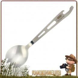 Cuillère Fourchette Scork Titane Vargo. couvert camping vaisselle titane ultra légère décapsuleur et ouvre boite