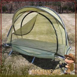tente abri moustiquaire rothco france dome une personne pour lit de camp ou bivouac survie jungle militaire