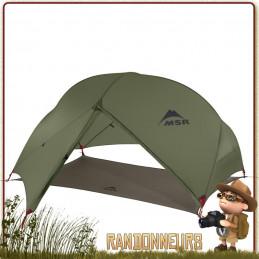 ENTE MSR HUBBA HUBBA NX - Tente de randonnée ultra légère pour 2 deux personnes trois 3 saisons pas cher