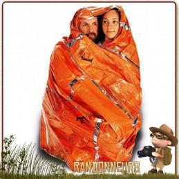 sursac bivy bag de survie SOL Survive Outdoors Longer 2 places pour se protéger du froid en randonnée légère