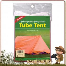 Tente Abri Urgence 2 Personnes Coghlan's pour se protéger des éléments en toute situation d'urgence et de survie
