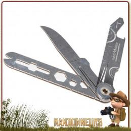 couteau de poche CRONO N3 de Swiss Advance est un couteau multi-fonctions pliant tout inox
