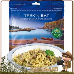 Sachet de Bœuf Chasseur aux Pâtes Trek'n Eat lyophilisé, simple et rapide à préparer