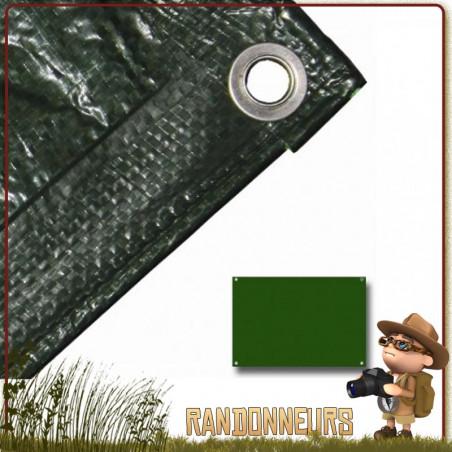 Bache Tarp Plastique 180 par 120 Highlander