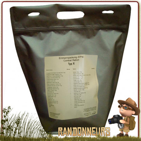 DAY RATION PACK TACTICAL LINE Type 1 Trek'n Eat
