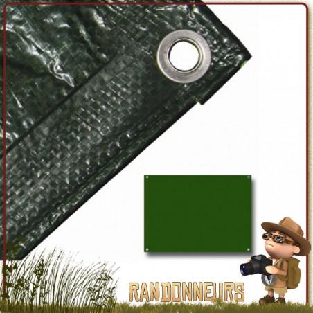 Bache Tarp Plastique 210 par 150 Highlander