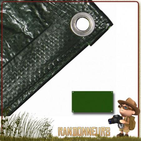 Bache Tarp Plastique 240 par 180 Highlander