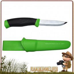 Poignard COMPANION F Vert MORA knives randonnée bushcraft survie