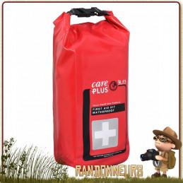 Trousse de premiers soins et secours en PVC étanche pour protéger le matériel de premiers soins des éléments, pluie, poussière