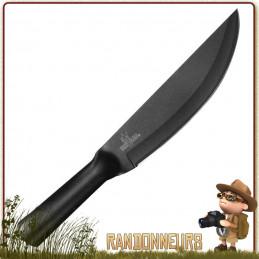 Couteau Bushman Standard Cold Steel - Couteau bushcraft de survie et chasse extrêmement robuste et avec un tranchant inimitable