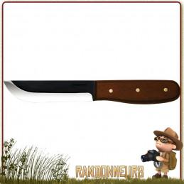 Couteau CONDOR BUSHCRAFT BASIC 127 excellente qualité de lame et de fabrication dans la plus pure tradition du bushcraft