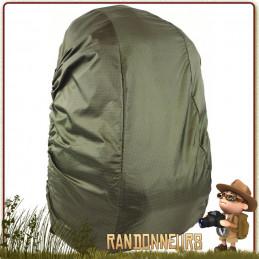 Couvre Sac à Dos bushcraft 20 à 30 Litres Étanche Vert Olive Armée Highlander protection de votre sac à dos par mauvais temps