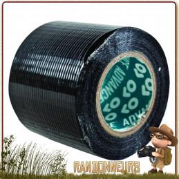 Duct Tape Haute Résistance Noir Highlander Ruban adhésif vinyle haute résistance noir, adhésif avec bande large