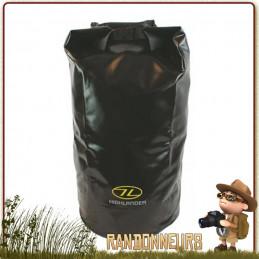 sac de transport étanche résistant en pvc triple couche coutures soudées 30 litres highlander