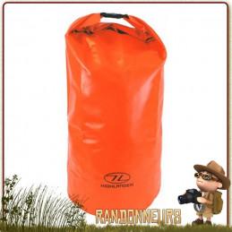 sac de transport pvc étanche résistant coutures soudées 30 litres highlander