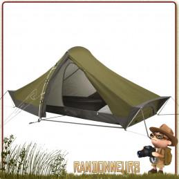 Tente Starlight 2 places ROBENS aérée sans condensation 3 saisons profilée au vent violent de trekking extrême