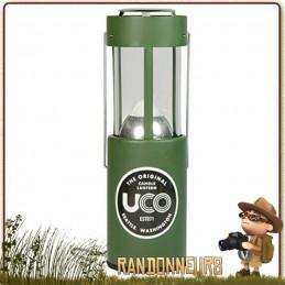 Lanterne Compacte Original Verte UCO situation survie urgence éclairage bougie longue durée
