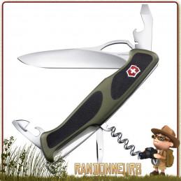 Couteau Suisse Victorinox RANGERGRIP 61 à 12 fonctions multifonctions Victorinox de collection Delémont