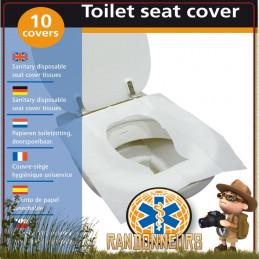 couvre-sièges hygiénique TravelSafe, protégez vous des toilettes publiques de la lunette des WC publics sales