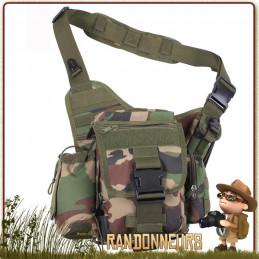 Sac Besace Bandouliere MOLLE Camo Rothco kit EDV et BOB pour la survie, preppers et survivalistes